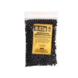 Bolsa 1000 bbs 0,43 g negras