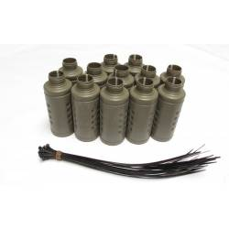 Pack 12 carcasas shocker granada Thunder B
