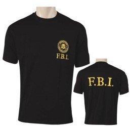 Camiseta FBI negra