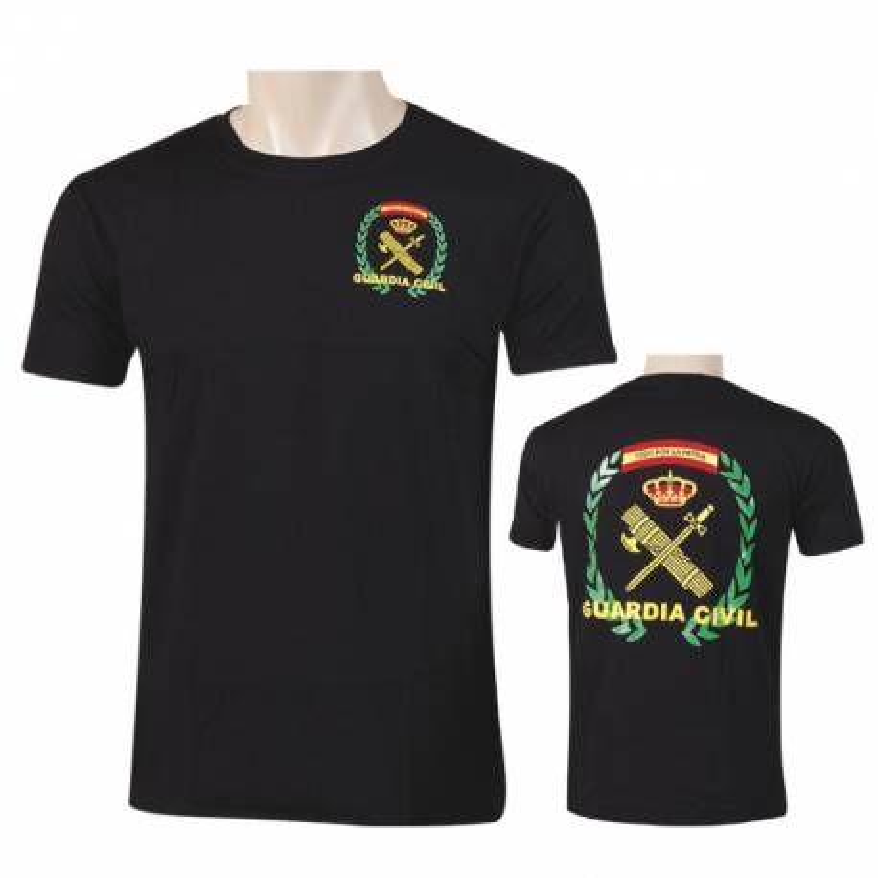 Camiseta Guardia Civil negra