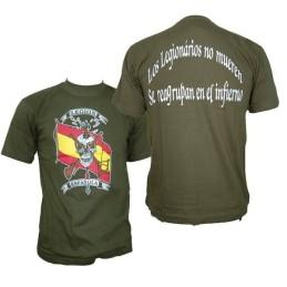 Camiseta Legionarios verde