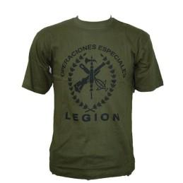 Camiseta Legión verde