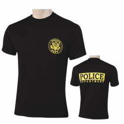 Camiseta Police Department negra