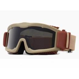 Gafas protección con 3 lentes tan