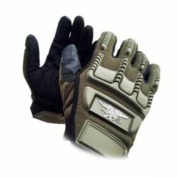 Guantes Seal completos verdes