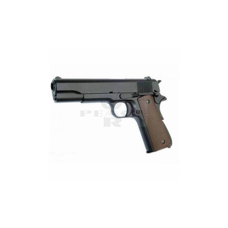 Pistola airsoft GBB 1911 Molon Labe Armorer Works