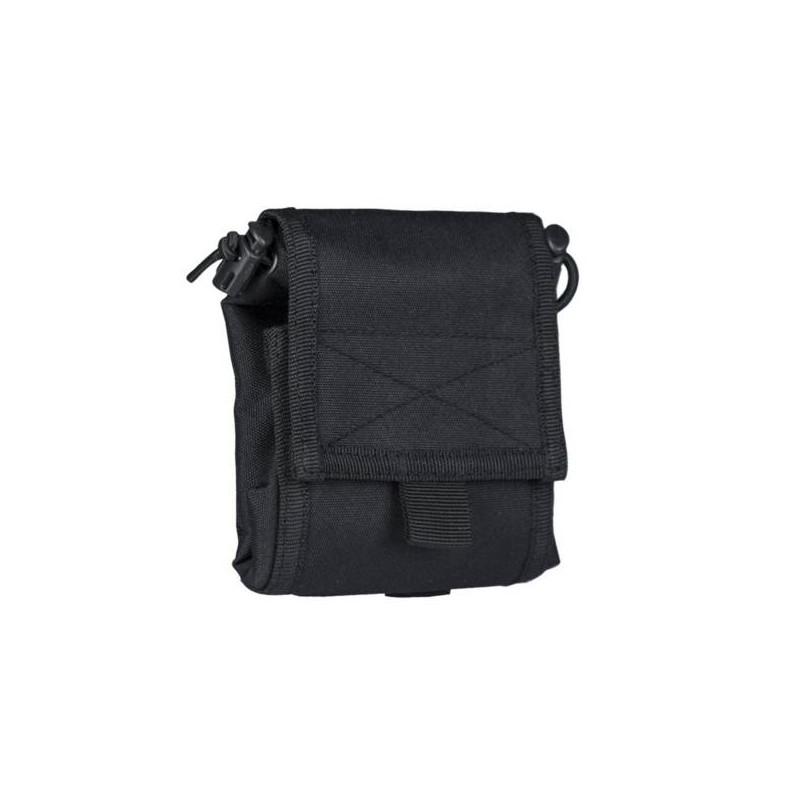 Bolsa de descarga plegable negra