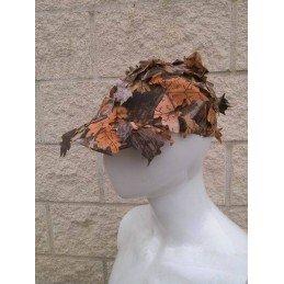 Gorra beisbol hojas otoño