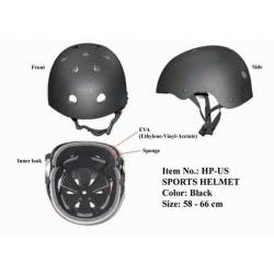 Casco airsoft all sport negro