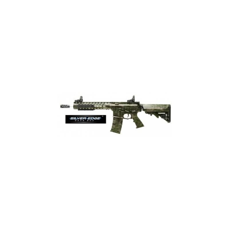 Fusil airsoft ASR114 10'' KeyMod Spyder a-tacs verde