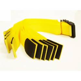 Brazalete identificativo amarillo 10 unidades