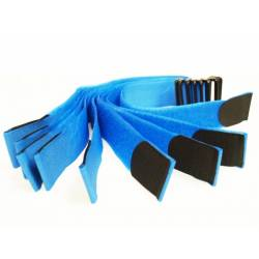 Brazalete identificativo azul 10 unidades