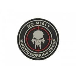 Parche No Mercy velcro