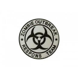 Parche Zombie Outbreak velcro
