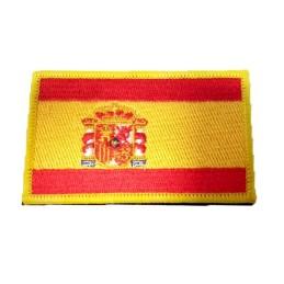Parche bordado bandera española