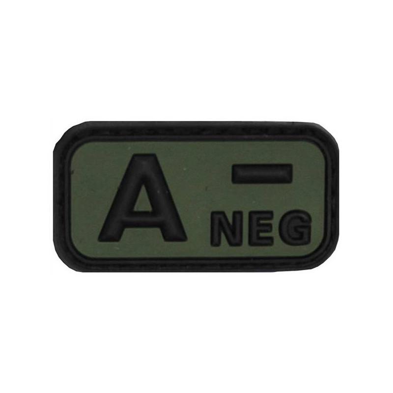 Parche A - NEG verde velcro