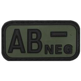 Parche AB - NEG verde velcro