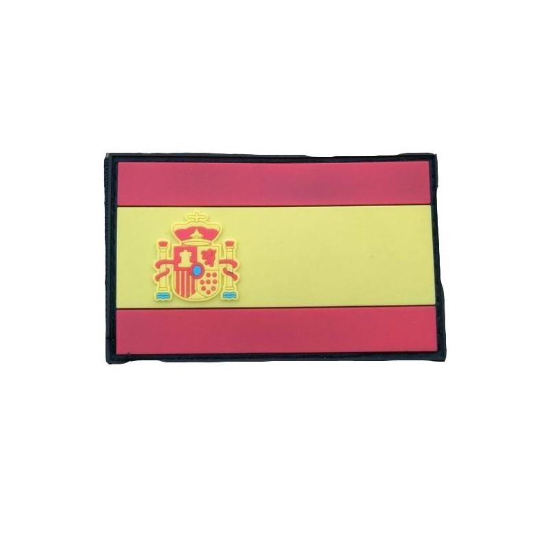 Parche bandera española velcro