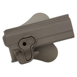 Pistolera rígida alta resistencia 1911 tan