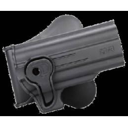 Pistolera rígida alta resistencia Hi-Capa 5.1 negra