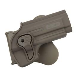 Pistolera rígida alta resistencia Taurus PT92, Beretta M92 y M92FS tan