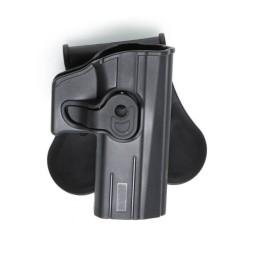 Pistolera rígida alta resistencia CZ P-07 y P-09 negra
