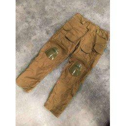 Pantalón combat Deluxe tan