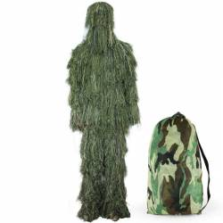Ghillie traje simple woodland