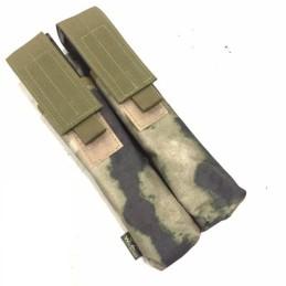 Pouch portacargador doble P90 a-tacs verde