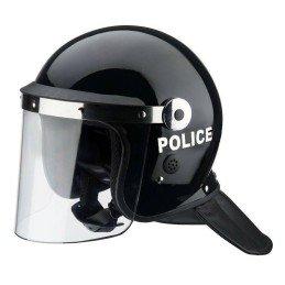 Casco antidisturbios police