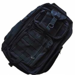Mochila compact assault 30 litros negro