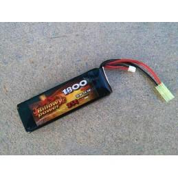 Batería li-po 11,1 V 1800 mAh 20 C
