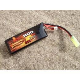 Batería li-po 11,1 V 1300 mAh 20 C