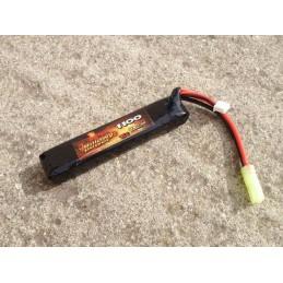 Batería li-po 7,4 V 1100 mAh 15 C tubo