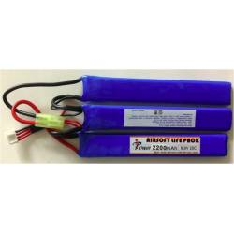 Batería li-fe 9,9 V 2200 mAh 20 C