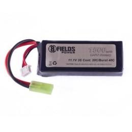 Batería li-po 11,1 V 1500 mAh 20/40 C