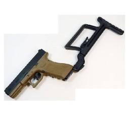 Culata extensible táctica glock negra