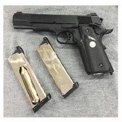 Pistola MEU 1911 gas y CO2