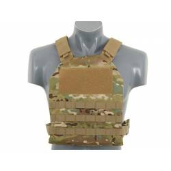 Chaleco simple plate carrier multicam