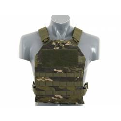 Chaleco simple plate carrier multicam tropic