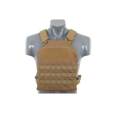 Chaleco simple plate carrier tan