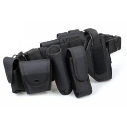 Cinturón con accesorios completo negro
