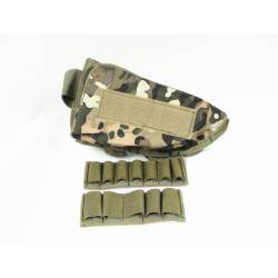 Cheek pad portacartuchos multicam