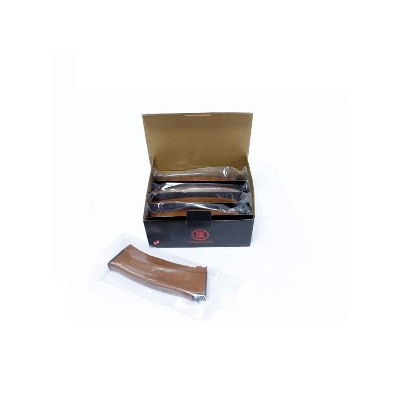 Cargador mid-cap 120 bbs AK74 tan pack