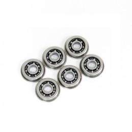 Casquillos metálicos con rodamientos 9 mm