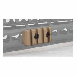 Rail keymod corto tan