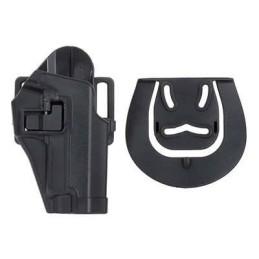 Pistolera rígida rápida doble enganche P226 negra