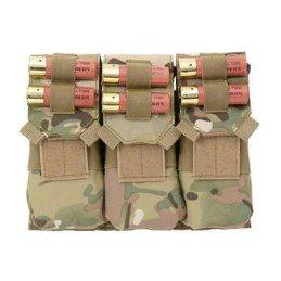 Triple pouch M4 y portacartuchos multicam
