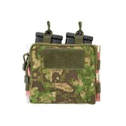 Doble pouch M4, portacartuchos y medic PG