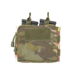 Doble pouch M4, portacartuchos y medic multicam tropic